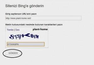Bing ve Yahoo site ekleme