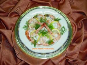 Karides Salatası tarif