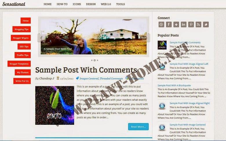 Profesyonel Seo Blogger Temaları